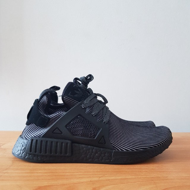 c11cb30d Adidas NMD XR1 Triple Black, Men's Fashion, Footwear, Sneakers on ...