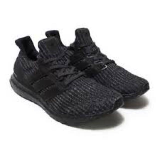 6358764600 Adidas Ultra Boost 4.0 Triple Black (BB6171)