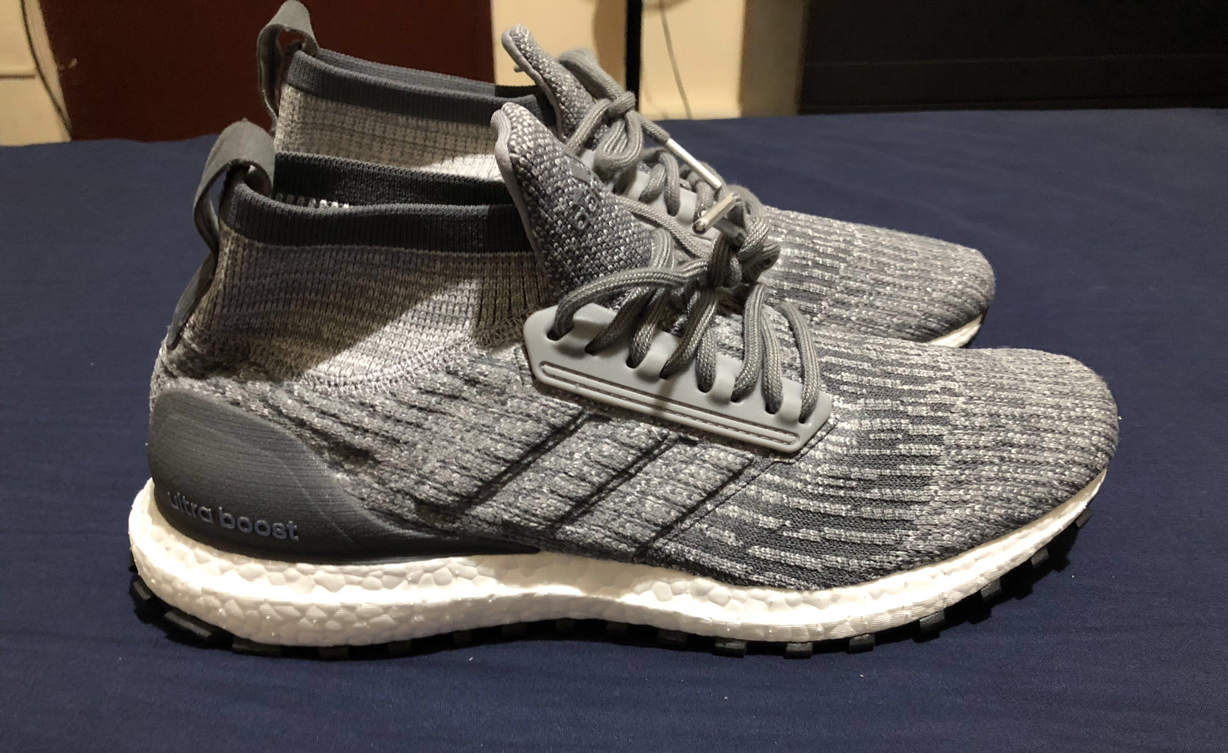 release date: 52c63 09e4a Adidas Ultra Boost ATR Mid (Grey, no box), Men's Fashion, Footwear on  Carousell