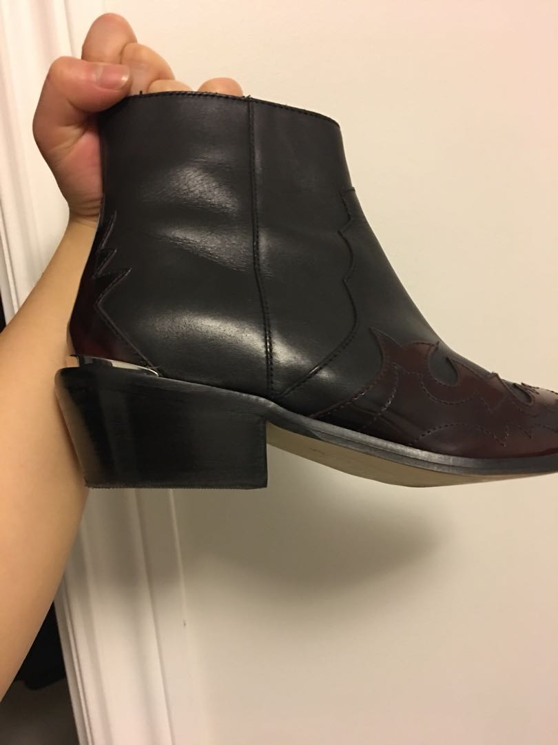 ASOS Cowboy style boots Leather
