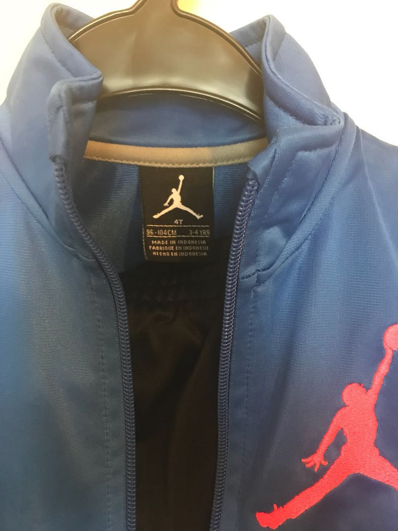 8fefdc4a257 Air Jordan Sport Jacket and Pant. Boys Track Suit!! New!, Babies & Kids,  Boys' Apparel on Carousell