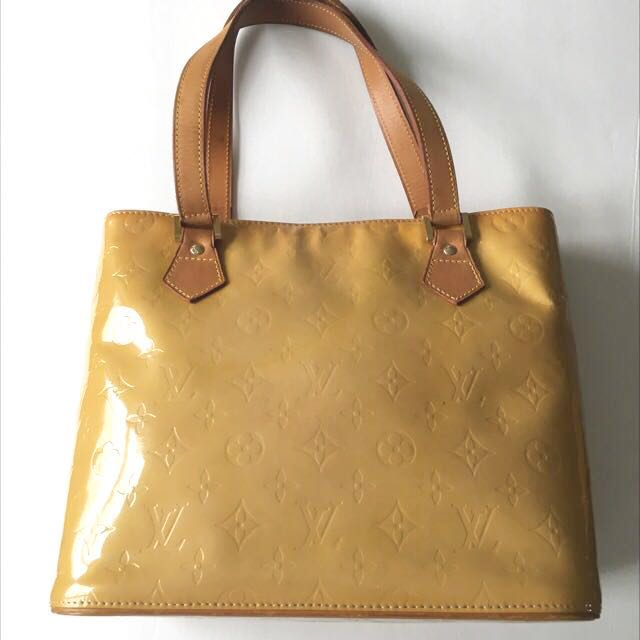 AUTHENTIC Louis Vuitton Houston Gold