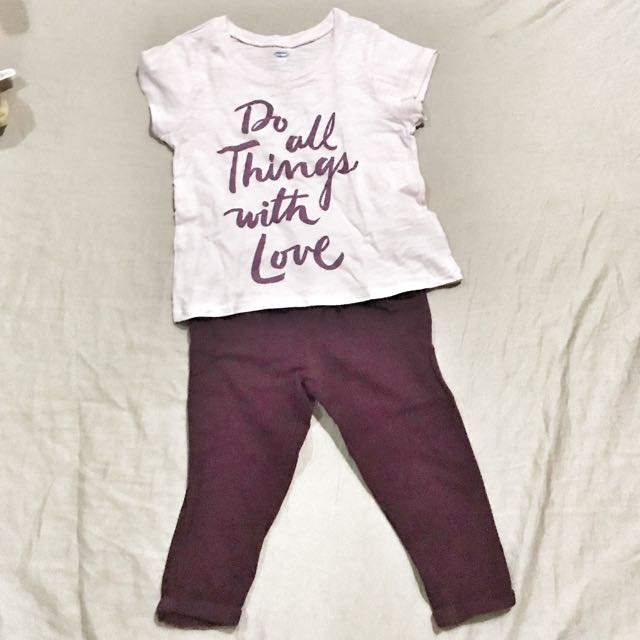 Authentic Old Navy Girls Set