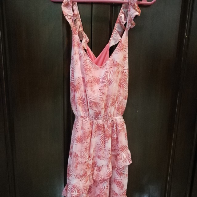 Authentic Sfera floral ruffled dress
