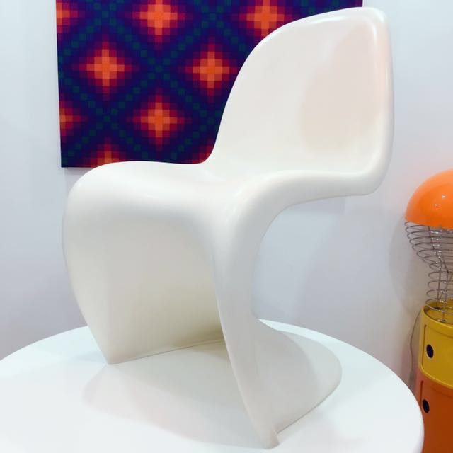 authentic verner panton s chair from vitra retro vintage furniture