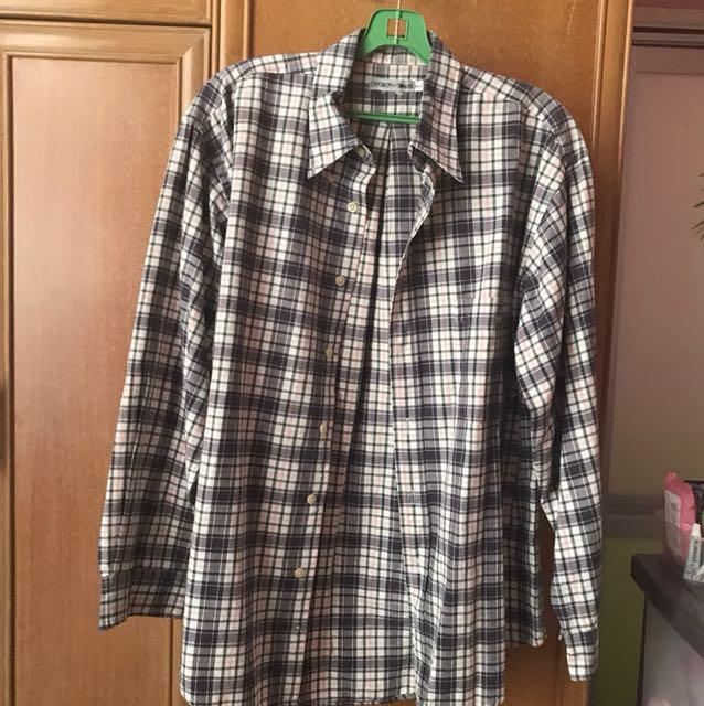 Authentic Vintage Emporio Armani Checkered Shirt