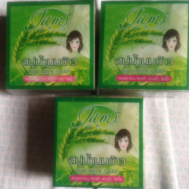 Authentic whitening soap from thailand