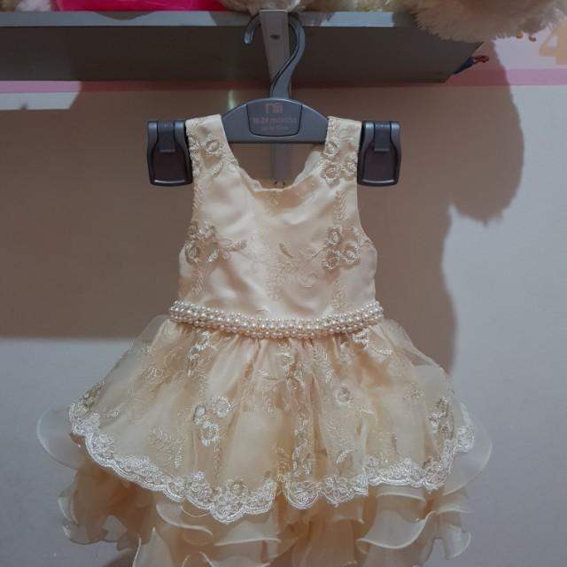Baby Girl Dress Baby Apparel Baju Pesta Bayi Babies Kids