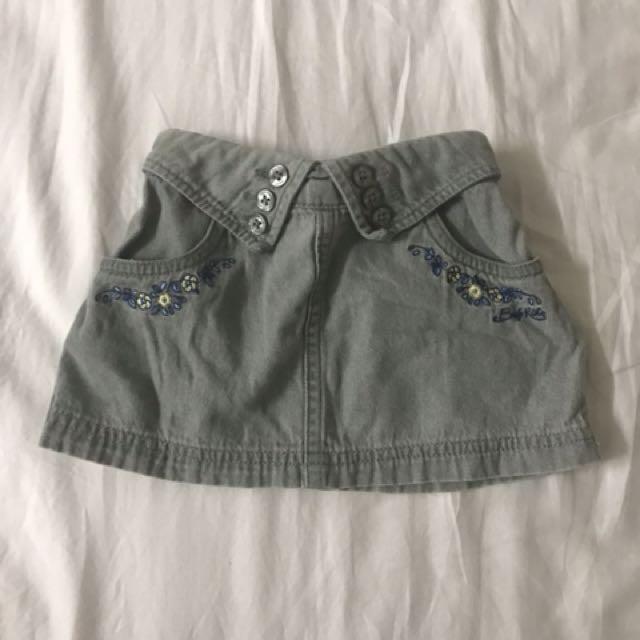 Baby Kiko Short Skirt