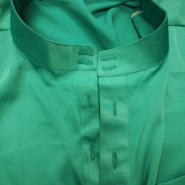 Baju Melayu Warna Hijau Petronas Brad Erva Doce Info