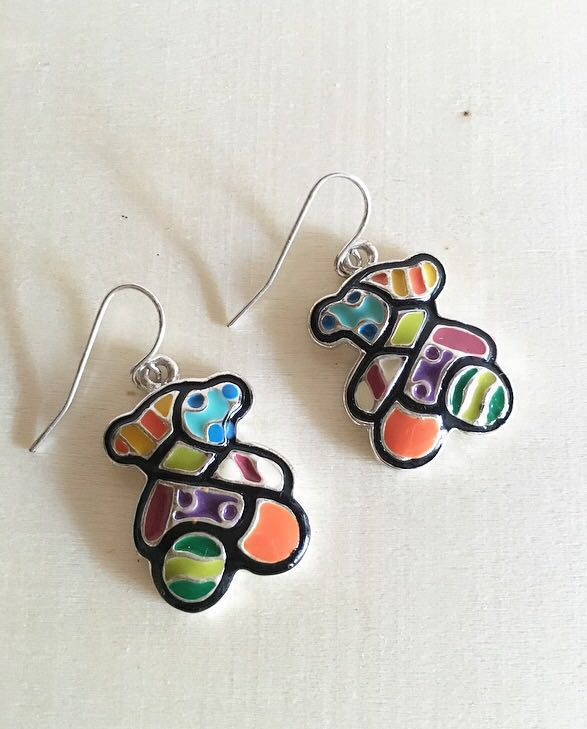 Bear Cuddle Earrings