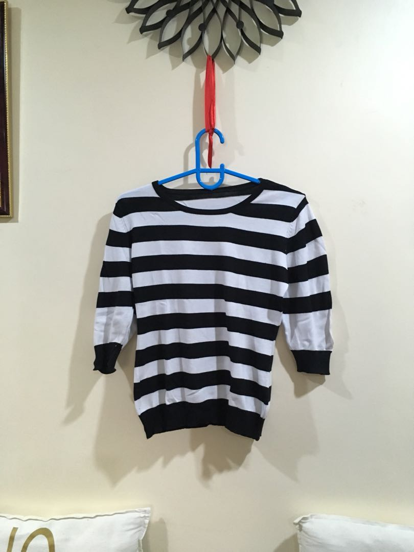 Big stripe blouse