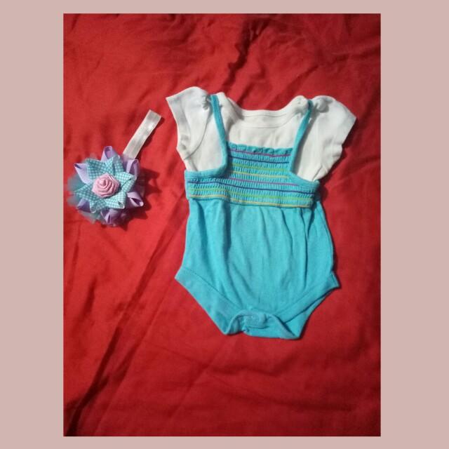 Blue baby dress for 50 pesos!!!