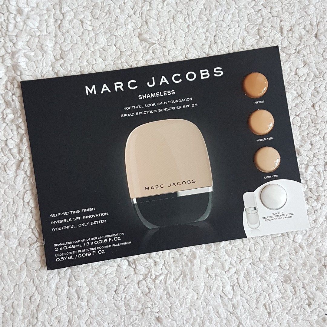 Bn Marc Jacobs Beauty Shameless Youthful Look 24hour Foundation Sample Health Beauty Makeup On Carousell