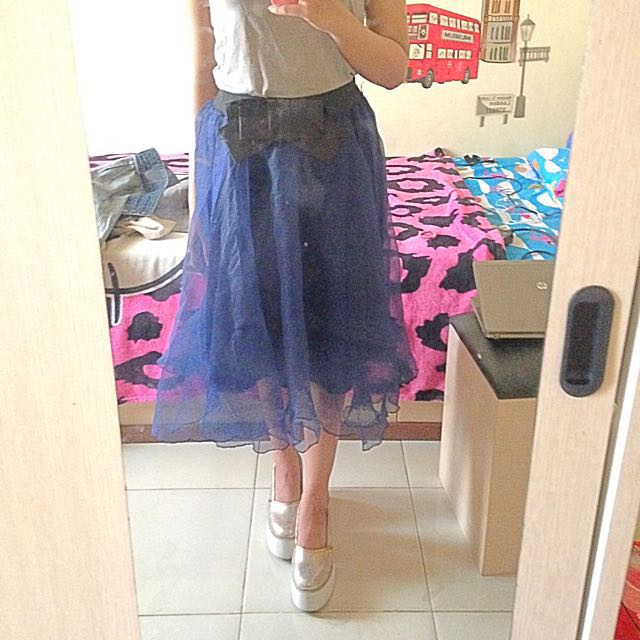 bow tutu skirt