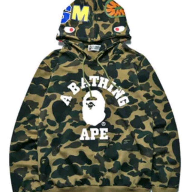 Brand new BAPE shark hoodie jacket coat sweatshirt d416286d7