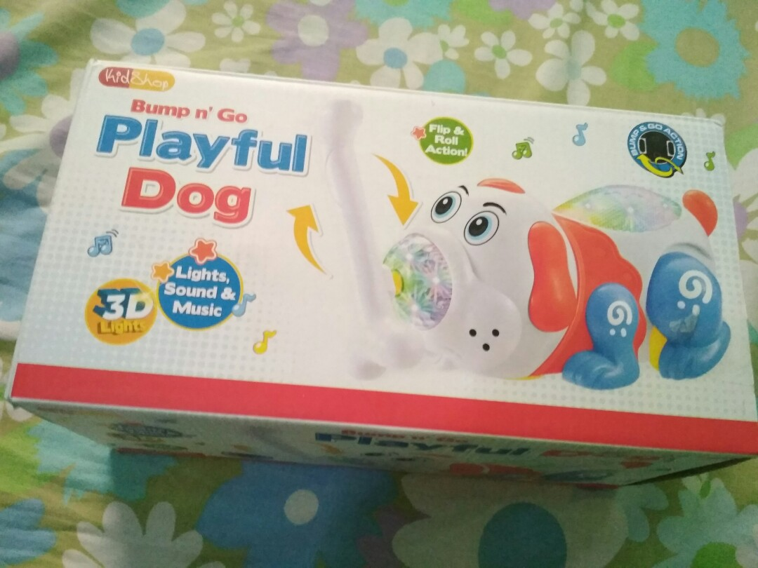 Bump n' Go Playful Dog