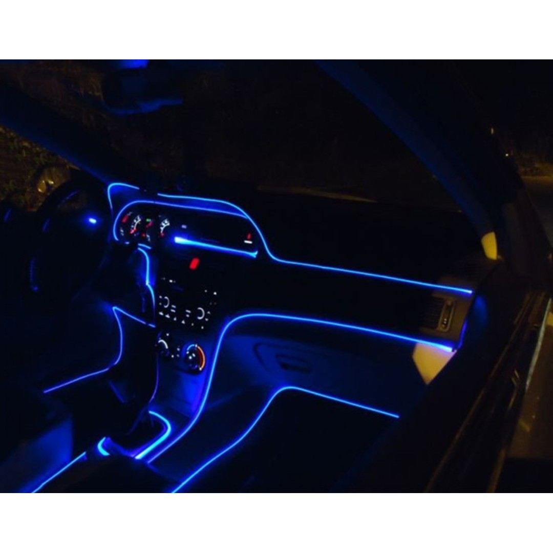 car interior lighting optical fiber car accessories on carousell. Black Bedroom Furniture Sets. Home Design Ideas