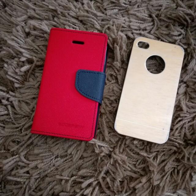 Case/Casing FlipCover Softcase Hardcase Iphone 4g