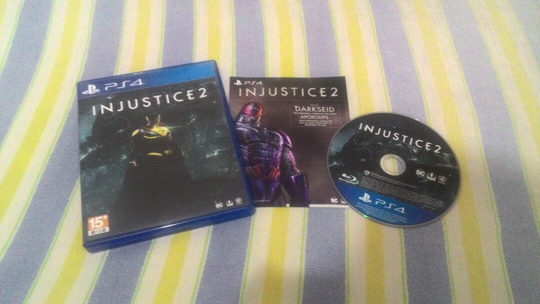 Cd Games PS 4 Injustice 2