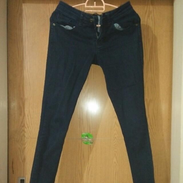celana jeans morphidae (black)