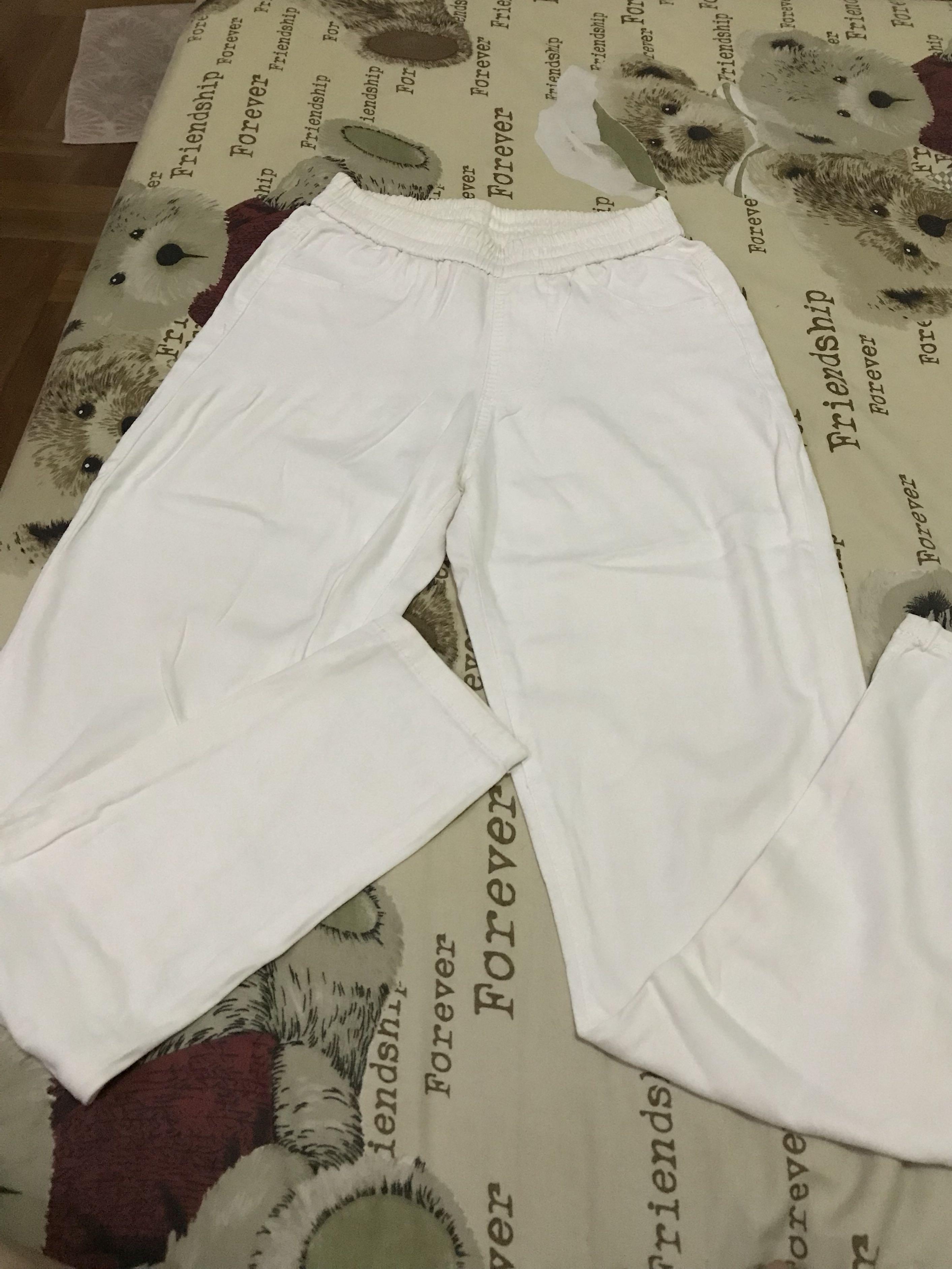 Celana panjang putih