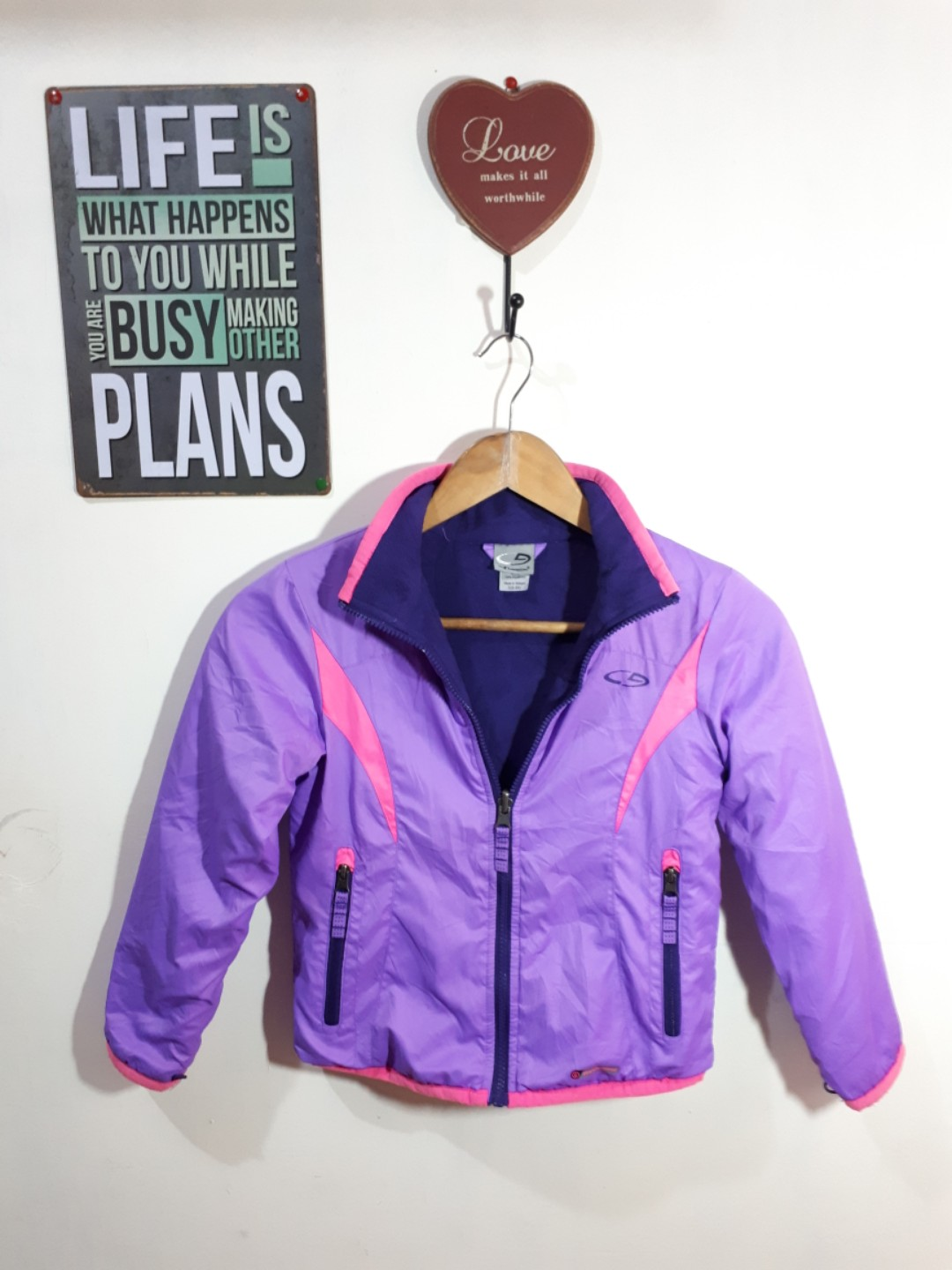 Champion Jackect with thermal for  Kids
