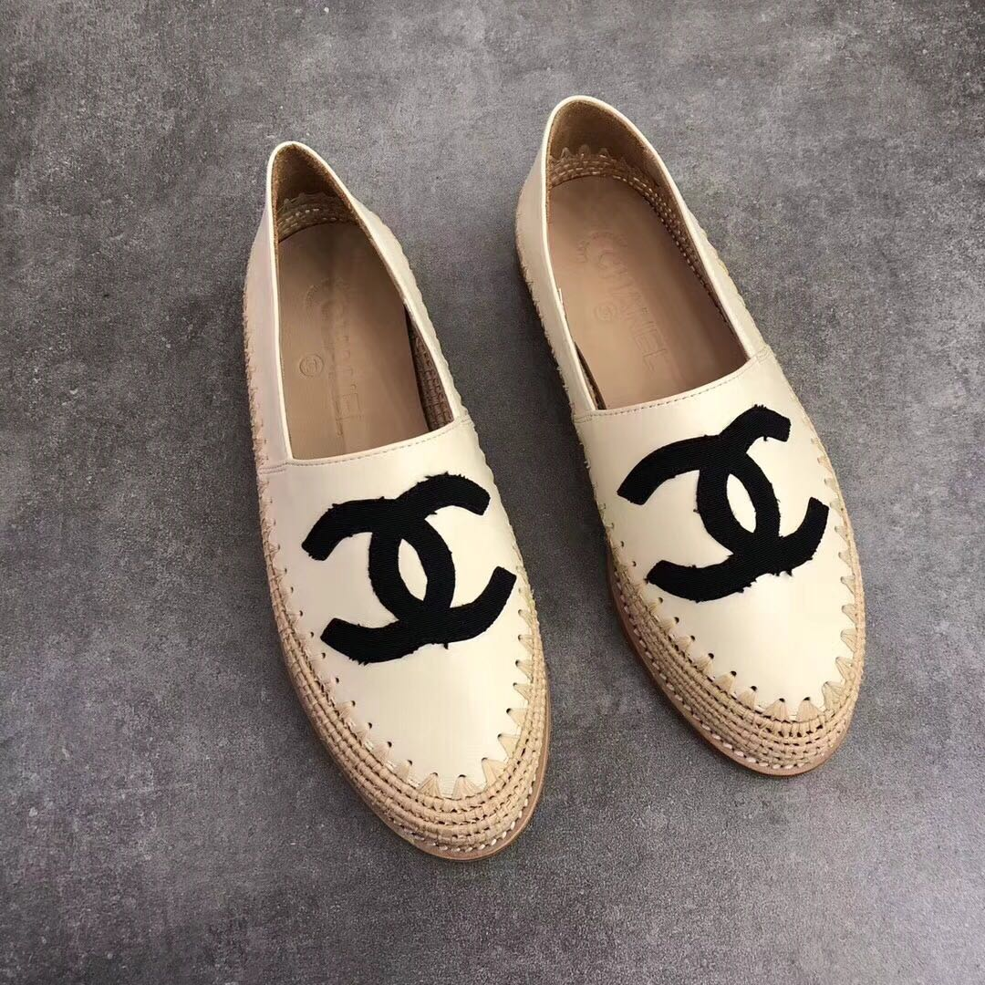 Chanel Leather Espadrilles Cruise 2018, Preloved Women's ...
