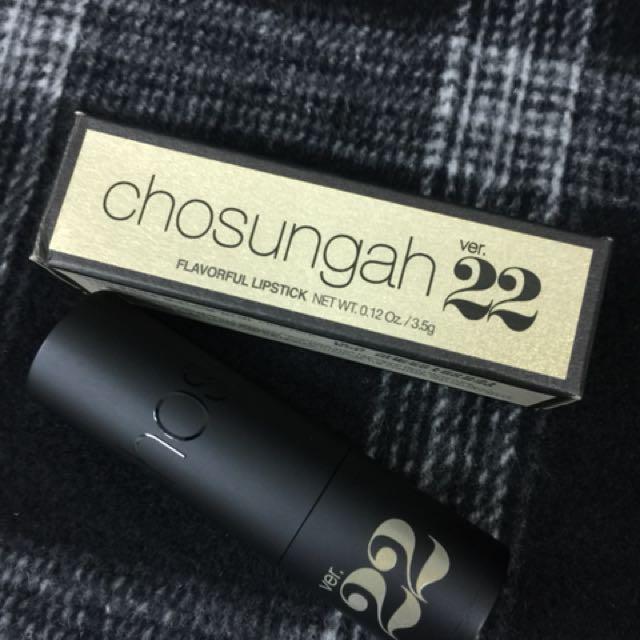 chosungah ver.22 透明果凍護唇膏 #CHAI TEA