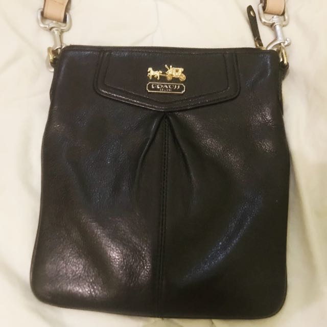 coach black bag authentic