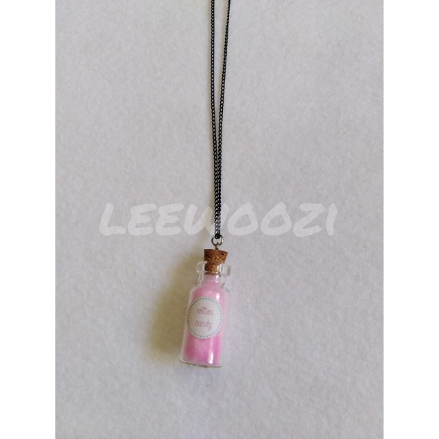 Cotton Candy Charm Necklace
