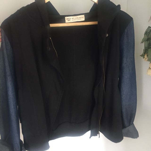 Cropped Back And Denim Jacket