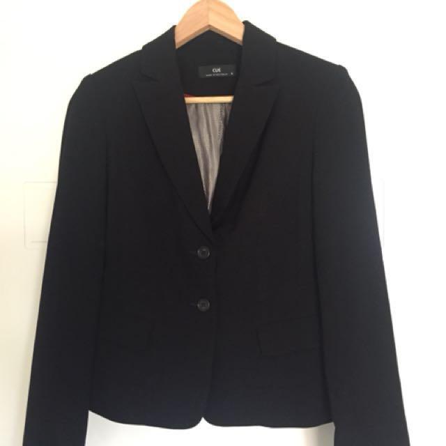 CUE black corporate blazer - 6