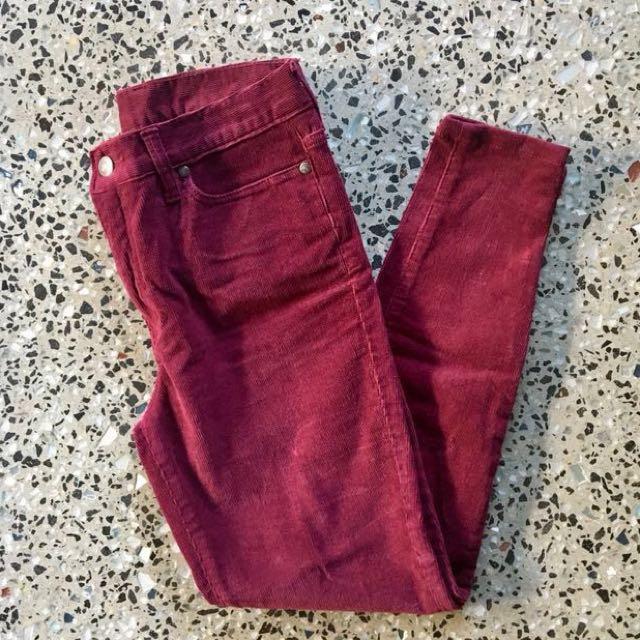 Dejour Corduroy Skinny Jeans