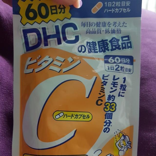日本帶回DHC /維他命C /60日份 120粒裝