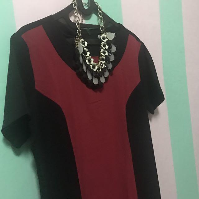 Dress Valino Donna ~ Big Size