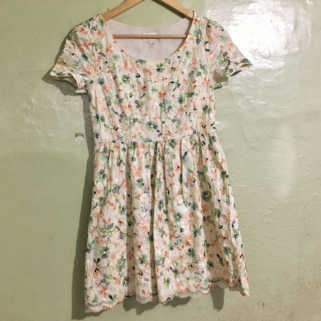 Embroidered smer dress