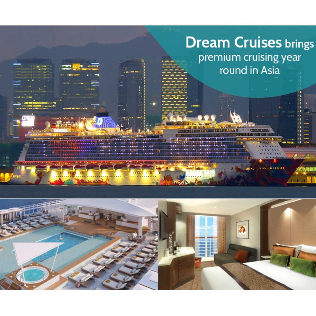 Cruise Genting Dream Exclusive 20 Ntuc Vouchers For New Singapore Duck Tour Voucher Seasiatravelscom Bookings Entertainment Attractions On Carousell