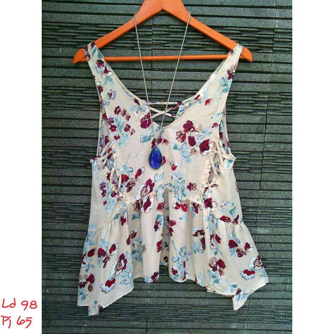 Floral soft tank