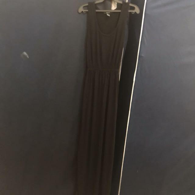 Forever 21 black long dress