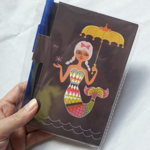 FREE SF! Mermaid Notebook
