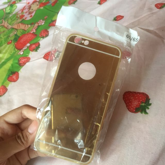 Gold Mirror Case for iPhone 6/6S
