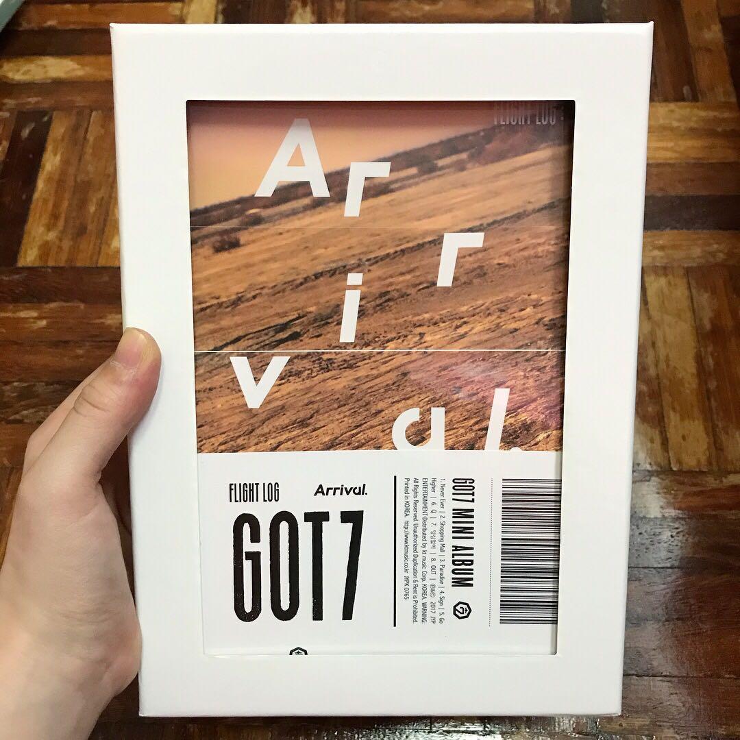 GOT7 Flight Log : Arrival Album with Poster in tube