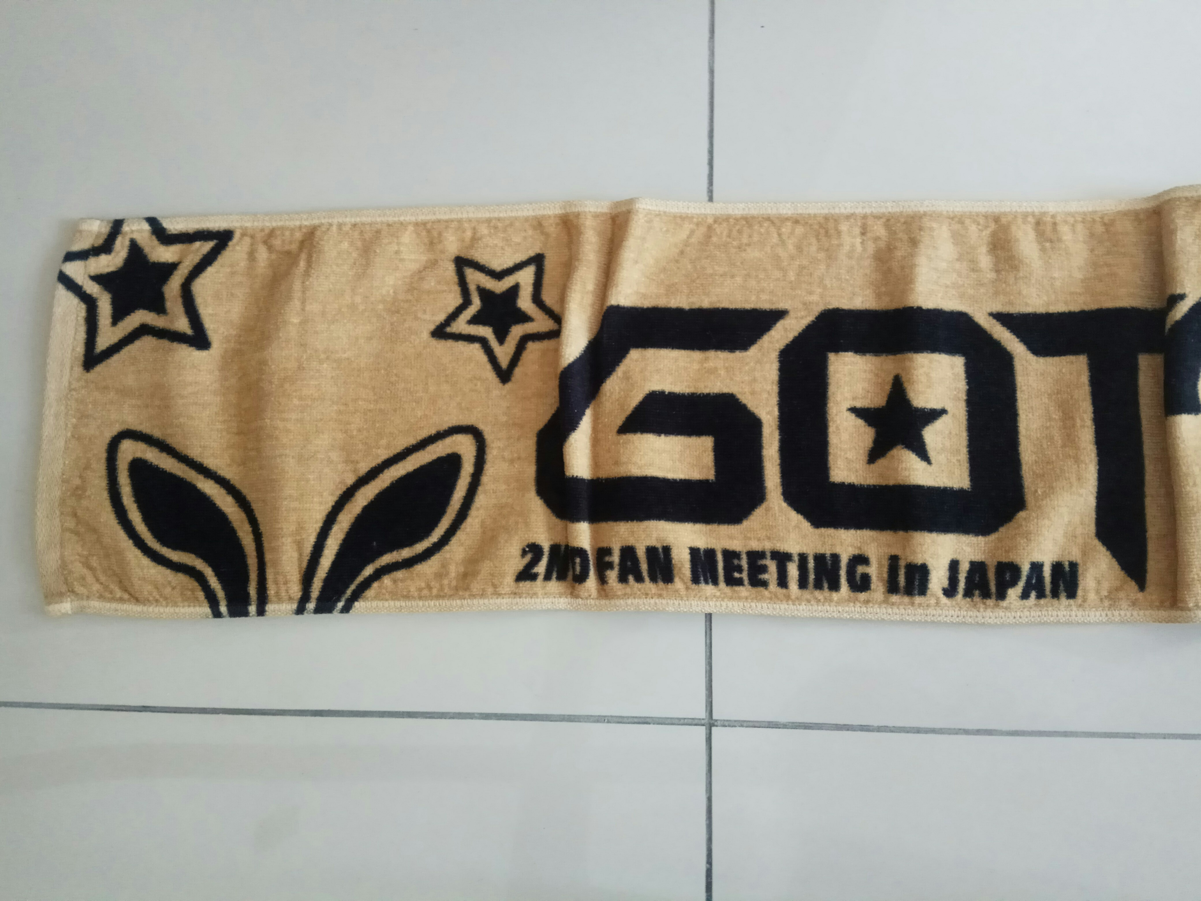 Got7 Official 2nd Fanmeeting in Japan towel