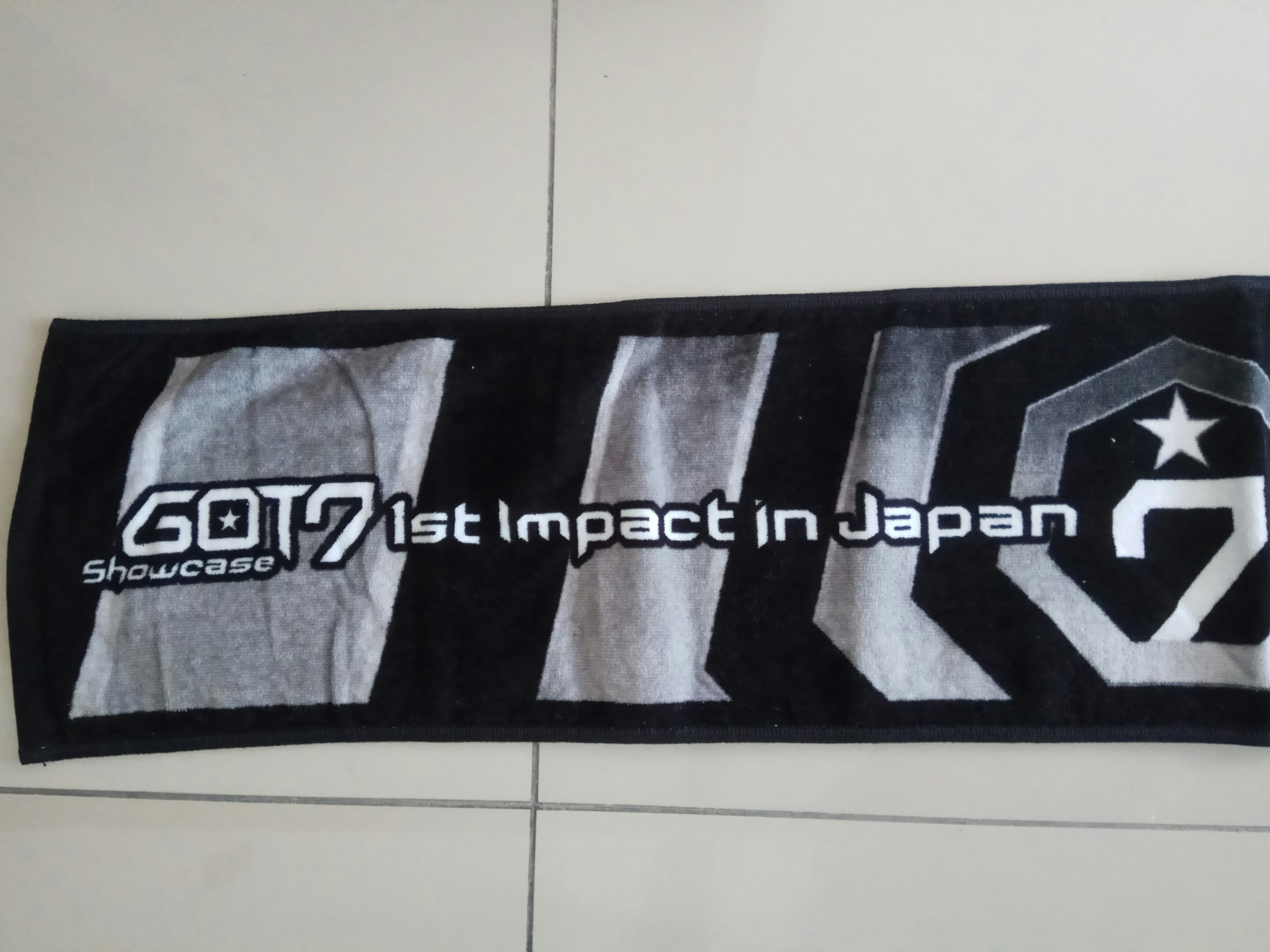 Got7 official showcase 1st impact in Japan towel