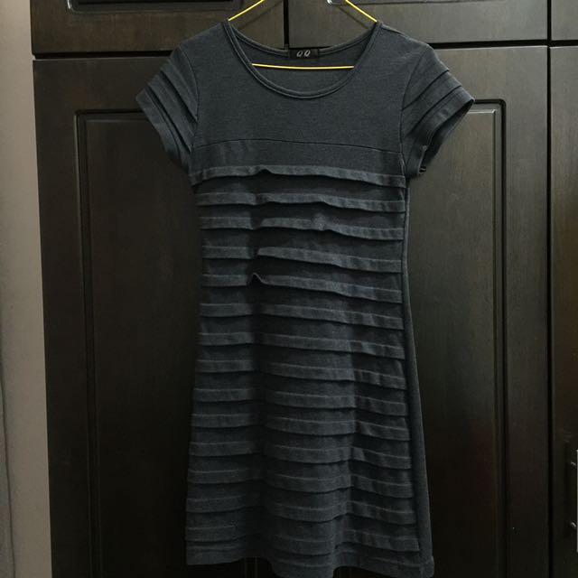 Grey Layered Dress