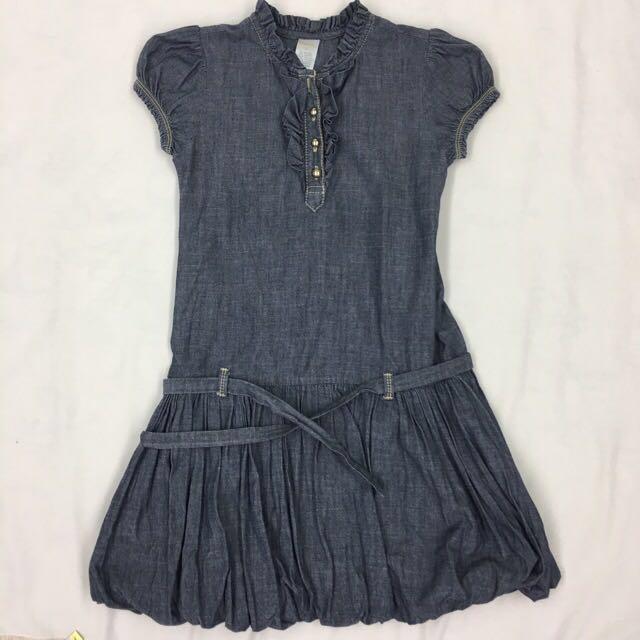 Gymboree soft Denim dress size 8
