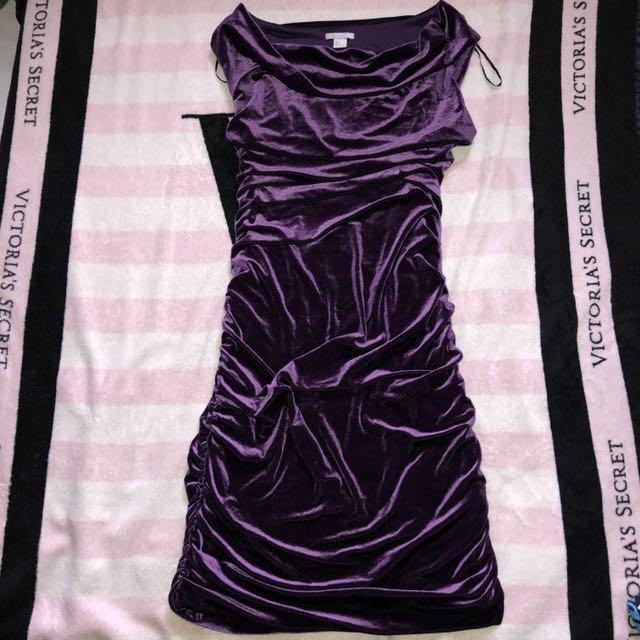 H&M Elegant Velvet Dress