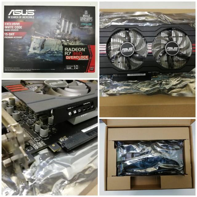 [HOT!] AMD RADEON R7 360 ASUS ROG