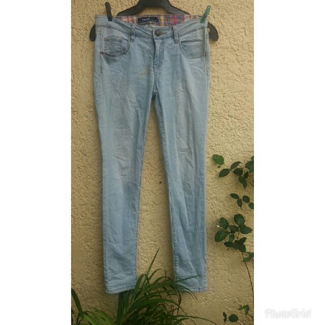 Imported Faded skinny pants 2in1